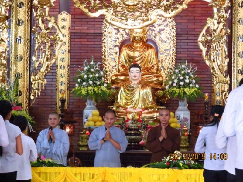 Khoá tu Bát Quan Trai dành cho Huynh Trưởng, Đoàn sinh GĐPT tại thị xã Buôn Hồ