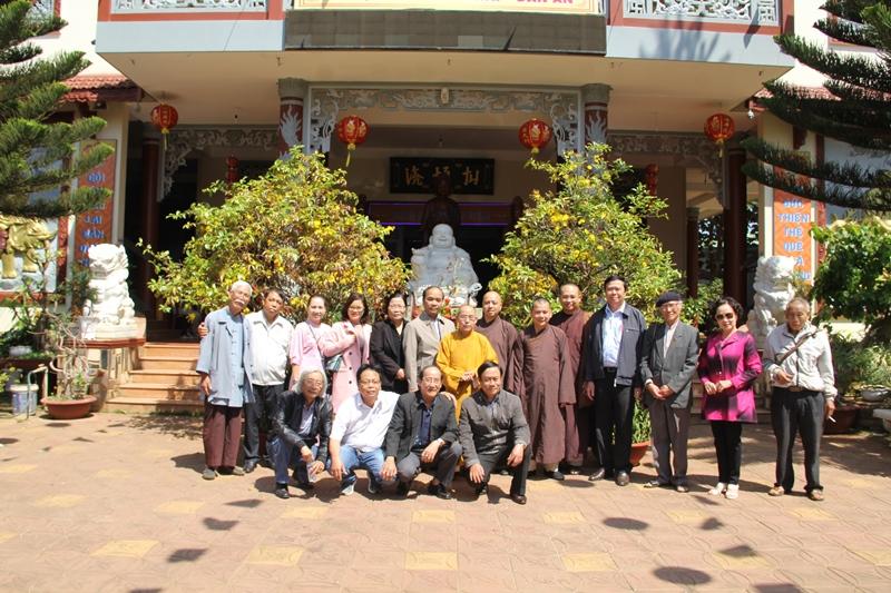 Ban văn hóa Phật giáo đặc trách khu vực Tây Nguyên họp mặt đầu xuân
