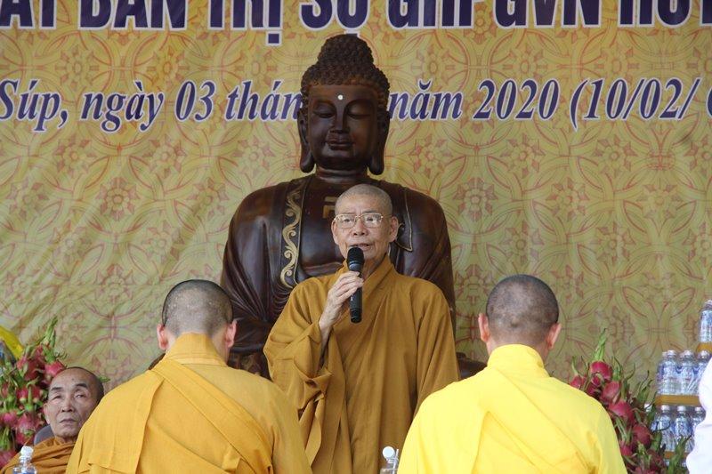 Lễ ra mắt Ban trị sự Phật giáo huyện Ea Sup và huyện Buôn Đôn