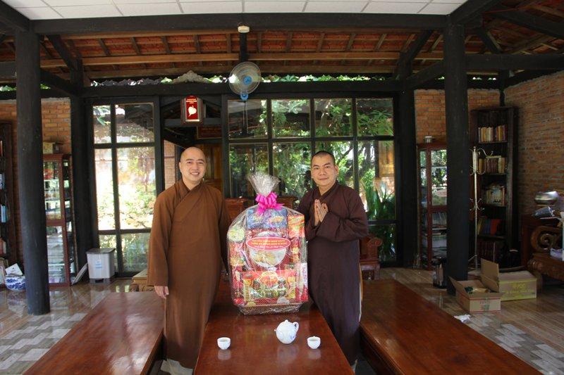 Thăm, chúc mừng Phật đản PL.2564-DL.2020 cơ sở Phật giáo huyện CưMgar