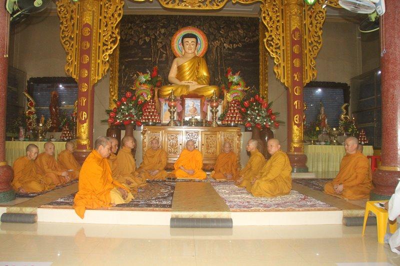 Huyện EaKar: Tịnh xá Ngọc Bửu tổ chức lễ dâng y casa mùa Vu lan PL:2564