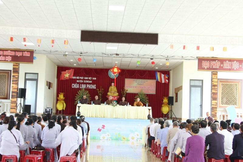Ban Trị sự PG huyện CưMgar Hội nghị sơ kết Phật sự 2020