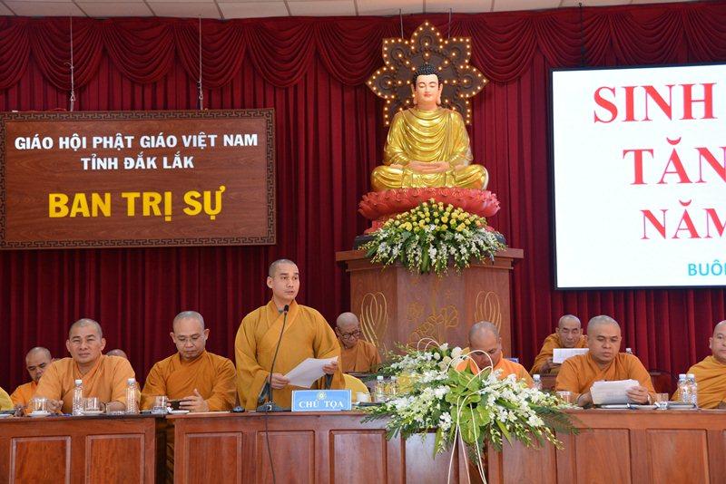 Đắk Lắk: Hội nghị sinh hoạt Tăng sự Phật giáo tỉnh