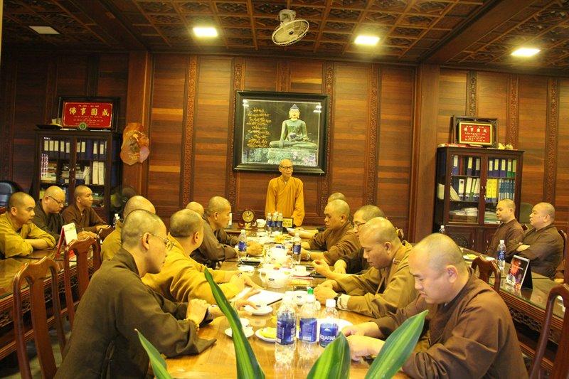 Đắk Lắk: Thường Trực Ban Trị Sự GHPGVN Tỉnh họp định kỳ tháng 5 năm Canh Tý