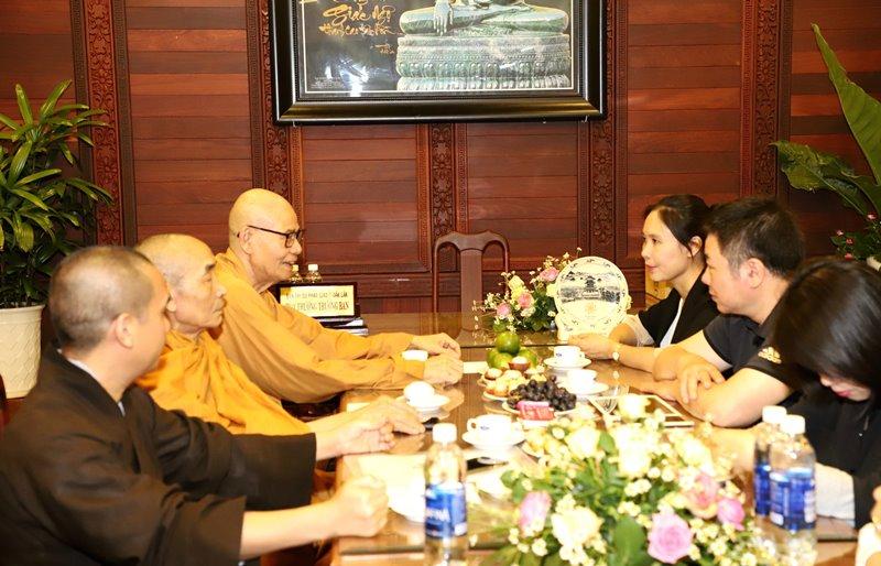 Ban Tôn Giáo Chính Phủ thăm Ban Trị sự Phật giáo Đak Lak