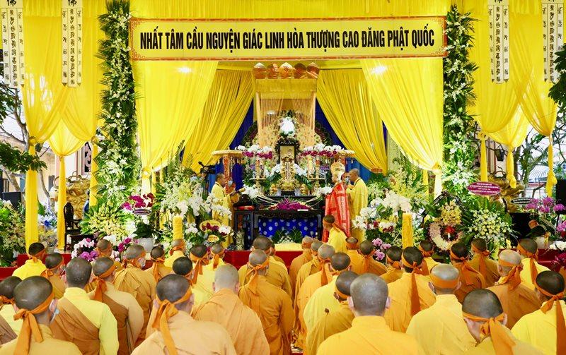 Phật giáo Đak Lak kính viếng Giác linh Hòa thượng Thích Ngộ Tánh