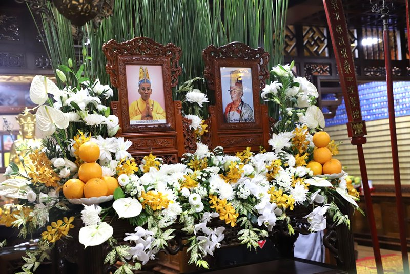 Lễ Húy Nhật nhị vị Hòa thượng ân sư nguyên Trụ trì chùa Sắc Tứ Khải Đoan