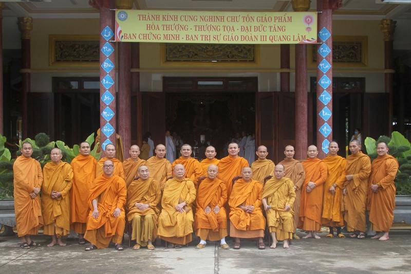 Đoàn Du Tăng Khất Sĩ Giáo đoàn III thăm viếng tịnh xá Ngọc Bửu, huyện Eakar