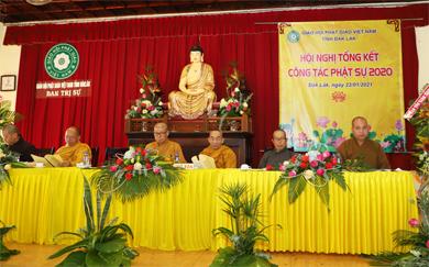 Đăk Lăk: Hội nghị Tổng kết Phật sự năm 2020 và Phương hướng hoạt động năm 2021 của BTS PG tỉnh