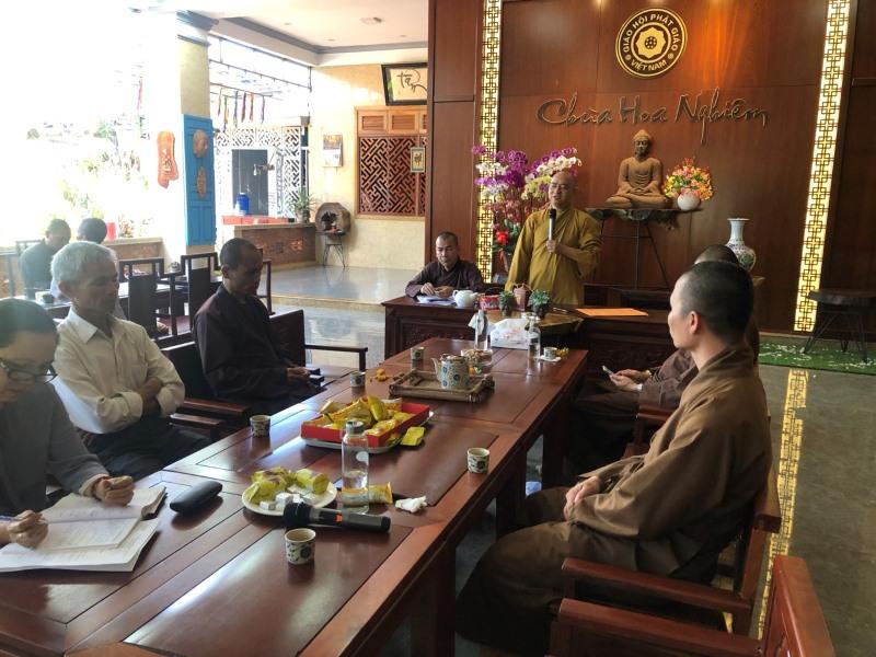 Phật giáo huyện CưMgar tổ chức phiên họp BTS PG mở rộng