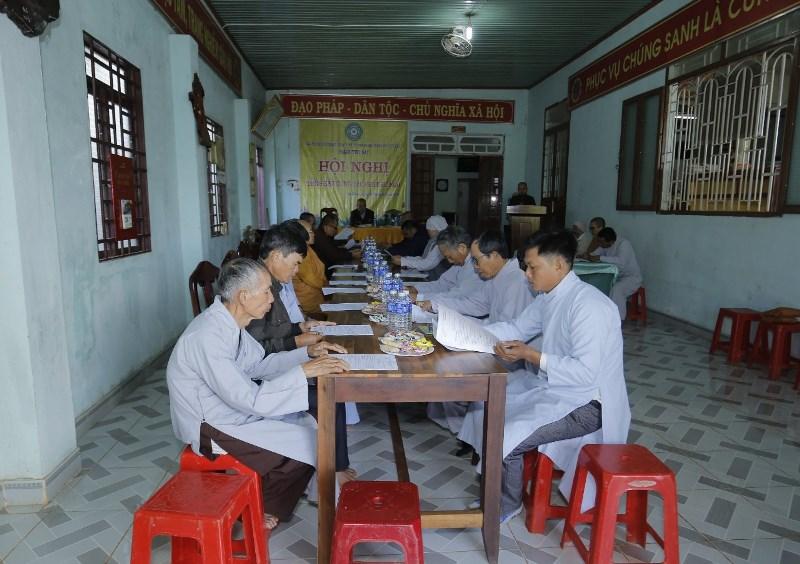 Phật giáo huyện EaHLeo tổng kết công tác Phật sự năm 2020