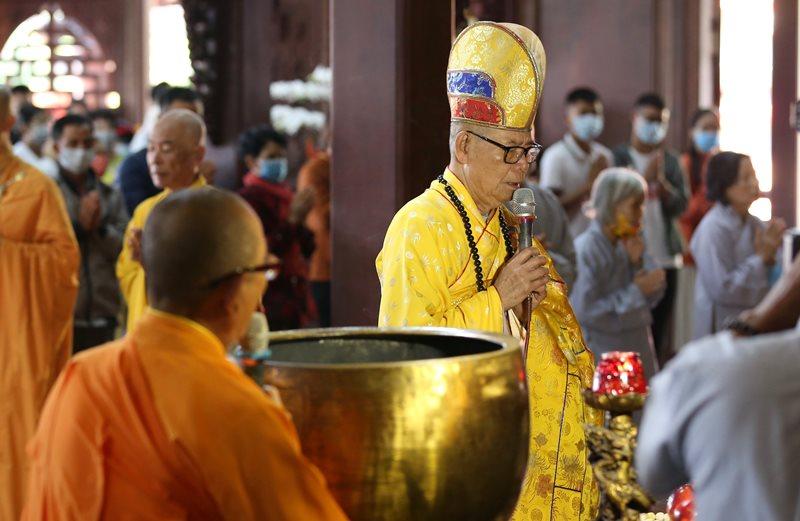 Tổ đình Sắc tứ Khải Đoan trang nghiêm tổ chức Lễ Minh niên, cầu an và tưởng niệm ngày lễ Đản sanh đức Phật Di Lặc