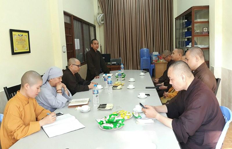 Phật giáo thành phố chưa thống nhất nhân sự NK 2021-2026