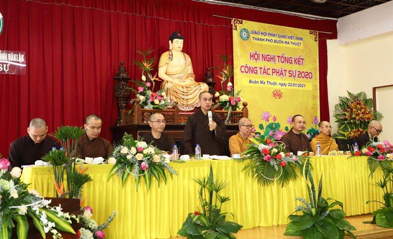 Video: Phật giáo Buôn Ma Thuột tổng kết công tác Phật sự 2020