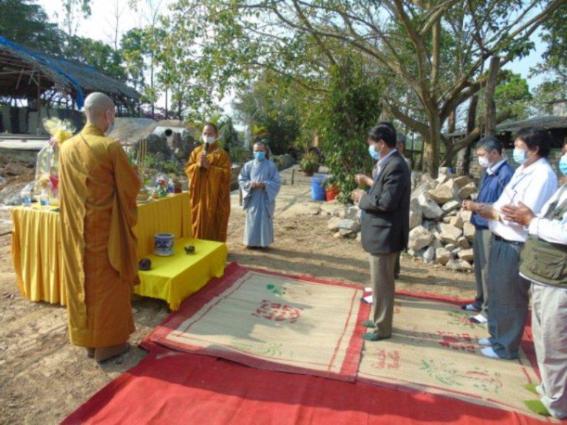 EaKar: Khởi công xây dựng Chánh điện chùa Tuệ Vân