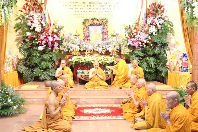 Lễ Pháp Thiền và Pháp Giảng tưởng niệm Cố Hoà thượng Thích Gíac Dũng tại tịnh xá Ngọc Quang