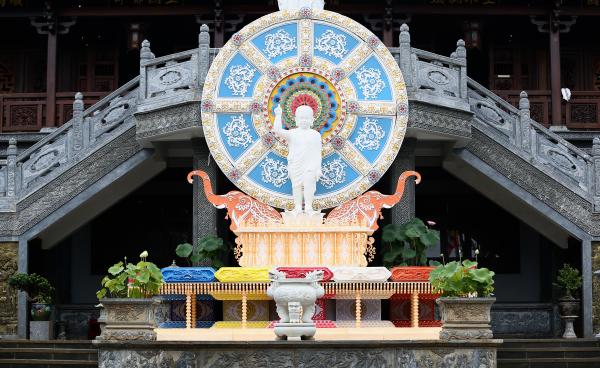 Không khí chuẩn bị Đại Lễ Phật Đản PL.2565 tại các tự viện thành phố Buôn Ma Thuột