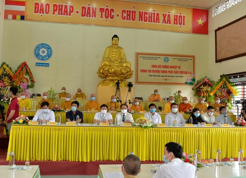 Khai mạc khóa bồi dưỡng nghiệp vụ Thông tin Truyền thông Phật giáo thời đại 4.0