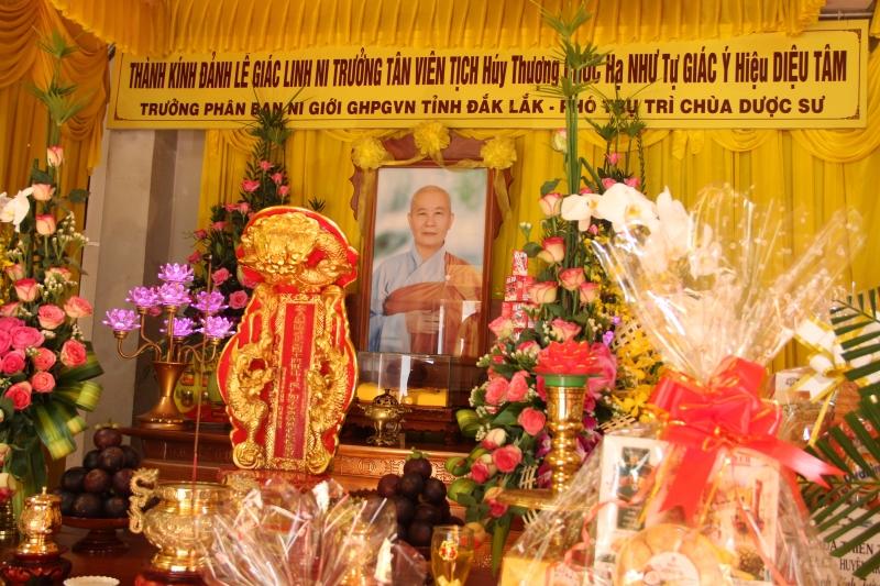 Lễ Tiểu tường cố Ni trưởng Thích nữ Chúc Như tại chùa Dược Sư