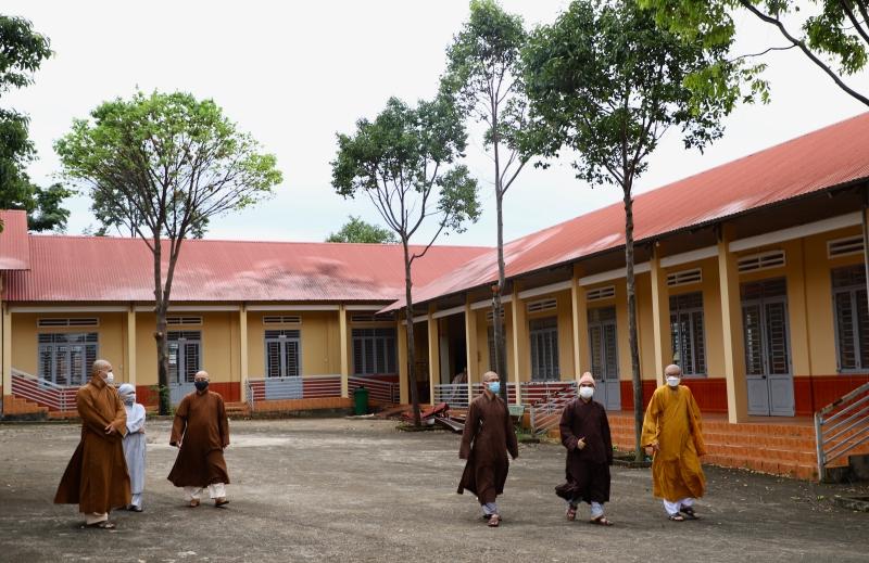 Phật Giáo Đak Lak xin thiết lập khu cách ly dự phòng cho Tăng Ni