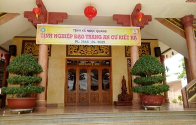 Tịnh xá Ngọc Quang tác pháp An Cư PL.2565