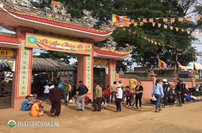 Lễ Vu Lan tại Chùa Quán Thế Âm huyện EaKar