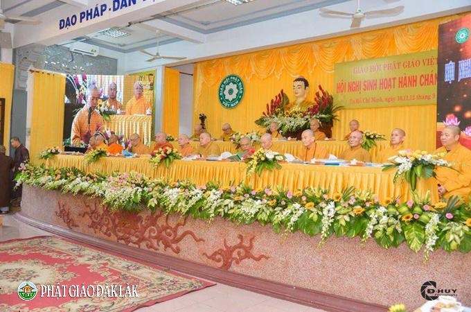 Phật giáo Đak Lak tham dự Hội nghị sinh hoạt hành chánh Giáo hội