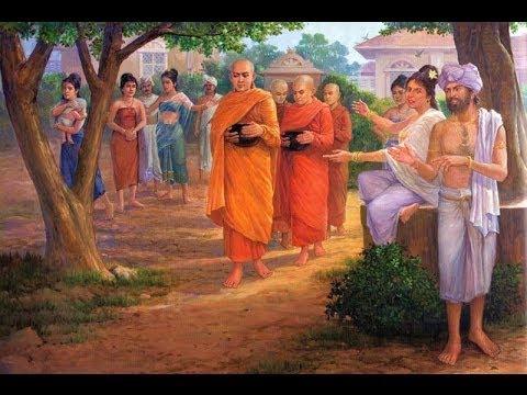 Đại giới đàn Trí Tịnh PL.2561: Một số hình ảnh tái hiện cổ Phật khất thực tại Việt Nam Quốc Tự
