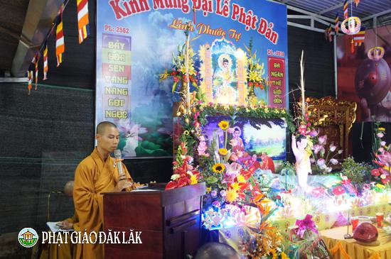 NPĐ Linh Phước xã Cư Suê huyện CưMgar long trọng trang nghiêm cử hành đại lễ Phật đản PL:2562-DL2018.