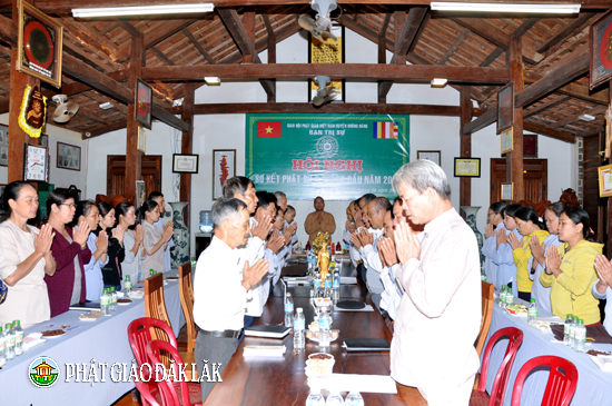Huyện Krông Năng đã tổ chức Hội nghị sơ kết Phật sự