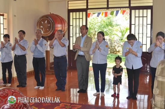 Huyện KrôngBông tổ chức mừng Khánh tuế Chư Tôn Đức đầu Xuân Mậu Tuất
