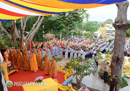 BTS PG Thị xã Buôn Hồ Tổ chức Lễ rước phật