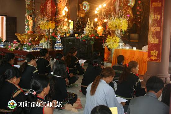 Khóa Tu một ngày an lạc tại chùa Hoa Nghiêm huyện CưMgar