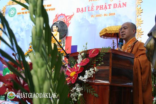 BTS PG huyện CưMgar Tổ chức Đại lễ Phật đản PL:2562-DL:2018