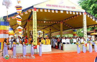 Krông Năng : BTS GHPGVN huyện đã long trọng tổ chức Đại lễ Phật Đản PL 2562 - DL 2018.