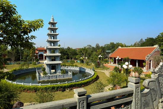 Khu văn hóa tâm linh của Trung tướng Hữu Ước tại Sóc Sơn, Hà Nội