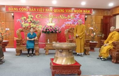 Ban trị sự GHPGVN tỉnh Đắk Lắk thăm và chúc Tết lãnh đạo các cơ quan ban ngành, đoàn thể trong tỉnh.