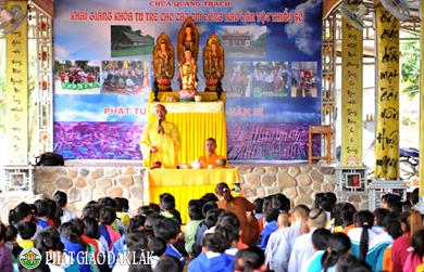 Bế Mạc Khóa tu trẻ cho đồng bào dân tộc thiểu số huyện Lăk