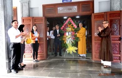 Sở Công An tỉnh chúc tết Thường trực BTS PG tỉnh Đăk Lăk