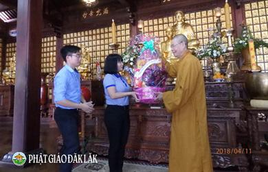 Đón tiếp đoàn công tác Tôn giáo của Ban Tôn giáo chính phủ thăm và làm việc