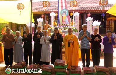 Đại lễ Phật Đản PL 2562 tại NPĐ Pháp Nghiêm xã CưlêMnông huyện CưMgar.