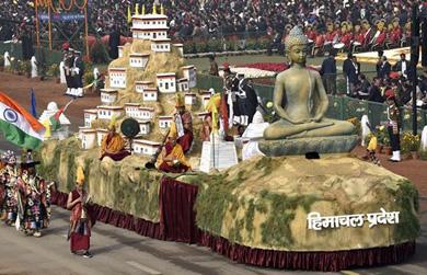 Ấn Độ: Dấu ấn Phật giáo tại Lễ kỷ niệm 69 năm ngày Cộng hòa