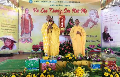 Huyện Lak : Long trọng tổ chức lễ Vu lan báo hiếu PL2562- DL2018