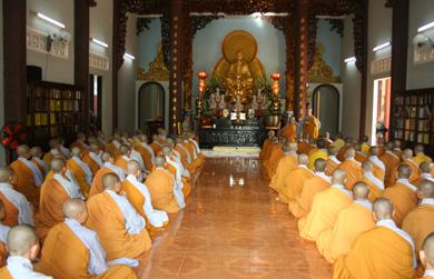 Đăk Lăk: Ni giới Đăk Lăk tác pháp thọ an cư tại chùa Dược Sư