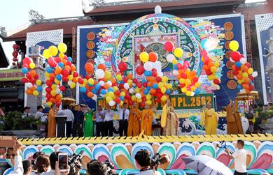 Đăk Lăk Trang nghiêm tổ chức Đại Lễ Phật đản