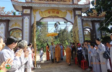 Chùa Phước Điền - Xã Hòa Thắng - TP.BMT tổ chức Đại lễ Phật đản