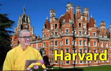 Sư thầy giành học bổng toàn phần Đại học Harvard