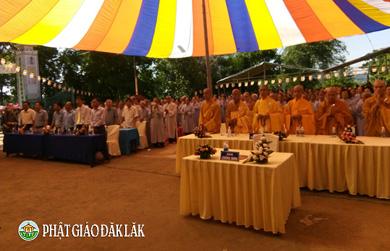 Krông Ana : BTS GHPGVN huyện Krông Ana tổ chức Đại lễ Phật Đản PL 2562 _ DL 2018