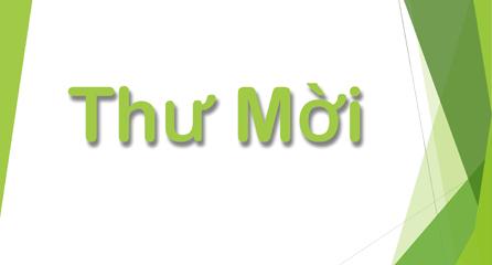 Thư mời Đại lễ Khánh tạ chùa Phổ Quang huyện CưM