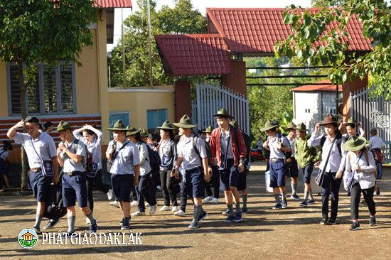 Lễ khai mạc trại A Nô Ma - Ni Liên - Tuyết Sơn GĐPT TP. Buôn Ma Thuột